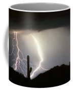 Ridin The  Southwest Desert Storm Out Coffee Mug