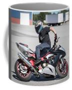 Riding Backwards Coffee Mug