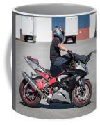 Riding On Handle Bars Coffee Mug