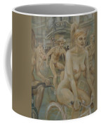 Riding Passed Burlington Arcade In June Coffee Mug