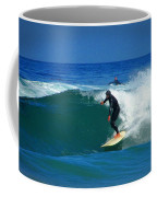 Riding The Waves At Asilomar State Beach Three Coffee Mug