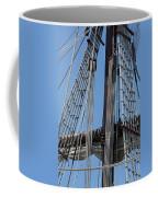 Rigging Aboard The Galeon Coffee Mug