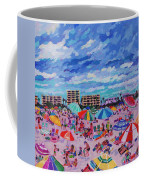 Right Panel Of Triptych Busy Relaxing Coffee Mug