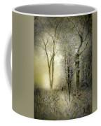 Rimy Forest Windy Daybreak By Laszlo Mednyanszky 1896 Coffee Mug