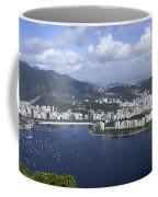 Rio De Janiero Aerial Coffee Mug