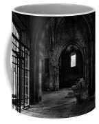 Rioseco Abandoned Abbey Naves Bw Coffee Mug