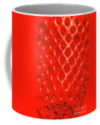 Ripe Red Fresh Strawberry Texture And Detail Coffee Mug