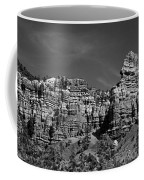 Rippled Walls B-w Coffee Mug