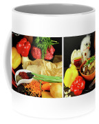 Rise And Pilaf - Collage Coffee Mug