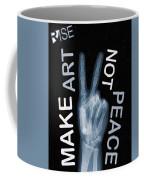 Rise Peace Coffee Mug