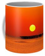 Rising Sun In Nabq Bay Coffee Mug