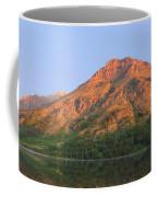 Rising Wolf Mountain At Dawn Coffee Mug