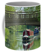 River At Harlow Mill Coffee Mug