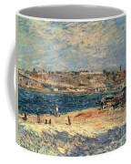 River Banks At Saint-mammes Coffee Mug