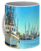 Darien Shrimp Boats Coffee Mug
