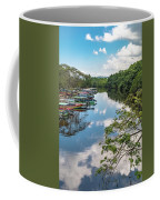 River Boats Docked Coffee Mug