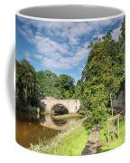 River Coquet Flows Under Warkworth Bridge Coffee Mug
