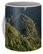 River In Forest Mountains Coffee Mug