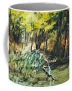 River In Summer Coffee Mug