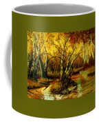 River In The Forest Coffee Mug