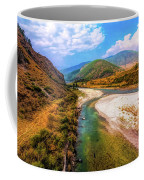 River In The Hills Coffee Mug