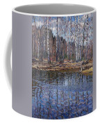 River Landscape Nikolai Petrovich Bogdanov-belsky Coffee Mug