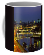 River Liffey Bridges, Dublin, Ireland Coffee Mug