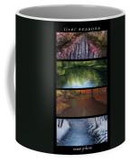 River Seasons Coffee Mug by Susan Jenkins