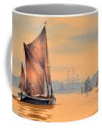 River Thames At Greenwich London Coffee Mug