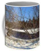 River Through The Branches Coffee Mug