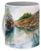 River Through The Hills Coffee Mug