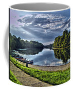 Riverbank Boats Coffee Mug