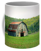 Riverbottom Barn In Spring Coffee Mug