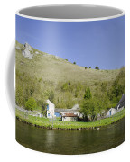 Riverside Setting At Monsal Dale Coffee Mug