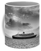 Rms Queen Mary 2 Mono Coffee Mug