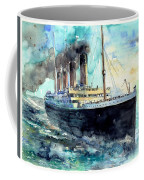 Rms Titanic White Star Line Ship Coffee Mug