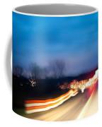 Road At Night 3 Coffee Mug