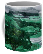 Road Leading To Hearst Castle Coffee Mug