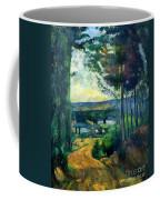 Road Leading To The Lake, By Paul Cezanne, Circa 1880, Kroller-m Coffee Mug