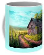 Road On The Farm Haroldsville L B Coffee Mug