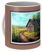 Road On The Farm Haroldsville L B With Alt. Decorative Ornate Printed Frame.   Coffee Mug