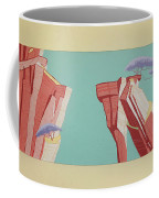 Road Runner Back Drop Coffee Mug