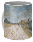 Road Running Beside The Paris Ramparts Paris, June - September 1887 Vincent Van Gogh 1853  1890 Coffee Mug