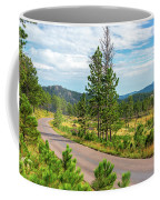 Road Through Custer State Park Coffee Mug