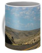 Road Through New Mexico Desert High Noon Coffee Mug