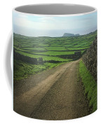 Road Through The Pastrues Of Terceira  Coffee Mug by Kelly Hazel