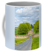 Road To Burghley House-vertical Coffee Mug