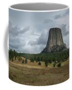 Road To Devils Tower Panorama Coffee Mug