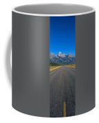 Road To Grand Teton National Park Coffee Mug