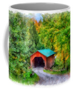 Road To The Covered Bridge Coffee Mug